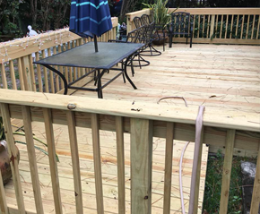 Deck Builder | Deck Railings Repair & Restoration