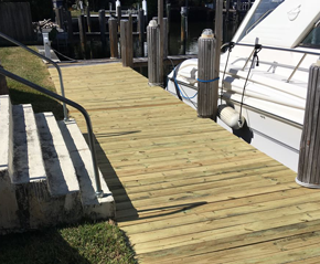 Install Docks and Piers